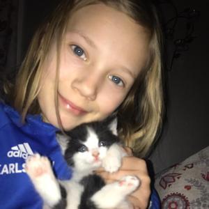 Greta 11år